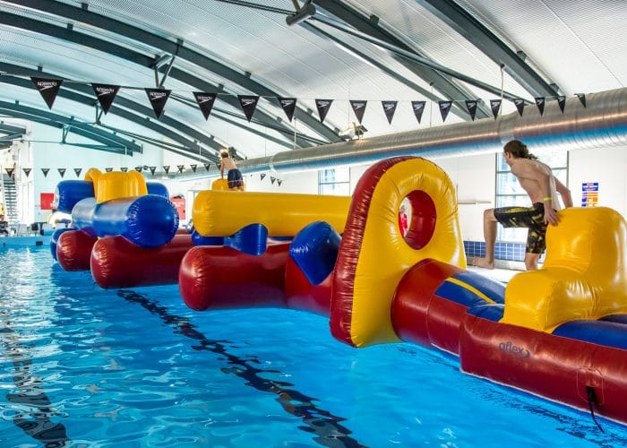 Mission inflatable Thredbo leisure centre
