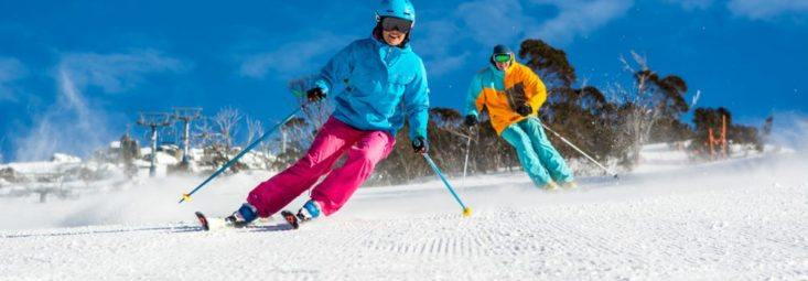 skiing Thredbo