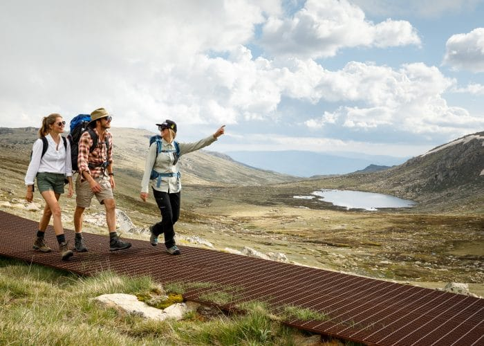 Thredbo guided hike Mount kosciuszko