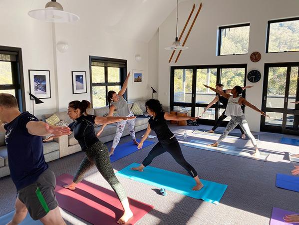 yoga at Boali Lodge