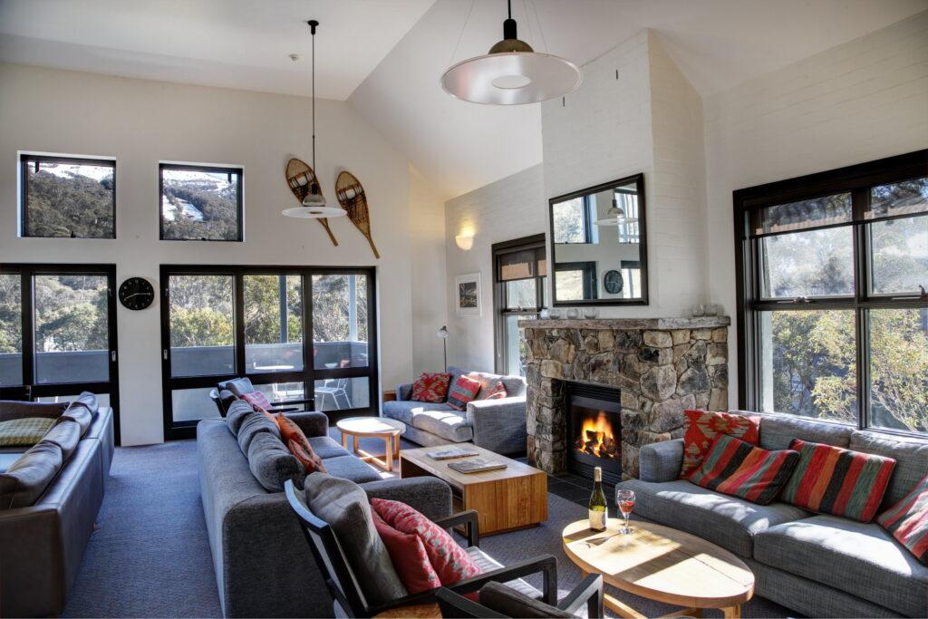 Boali Lodge lounge